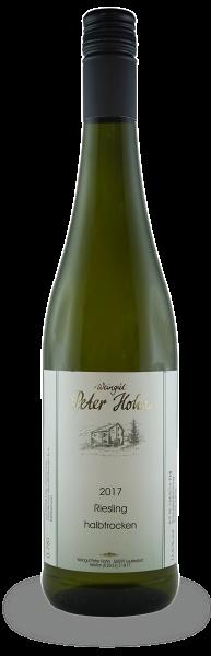 Jahrgang 2017 | Riesling Qualitätswein halbtrocken